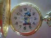MICKEY MOUSE Pocket Watch VERICHRON QUARTZ POCKET WATCH